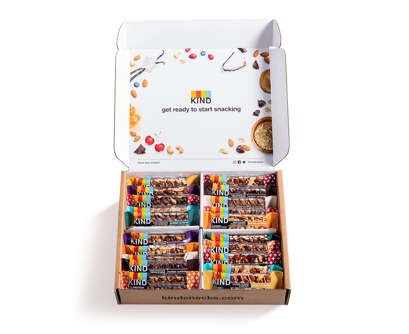healthy snack gift box for remote workers