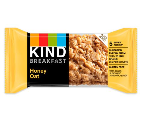 Honey Oat Breakfast Bars