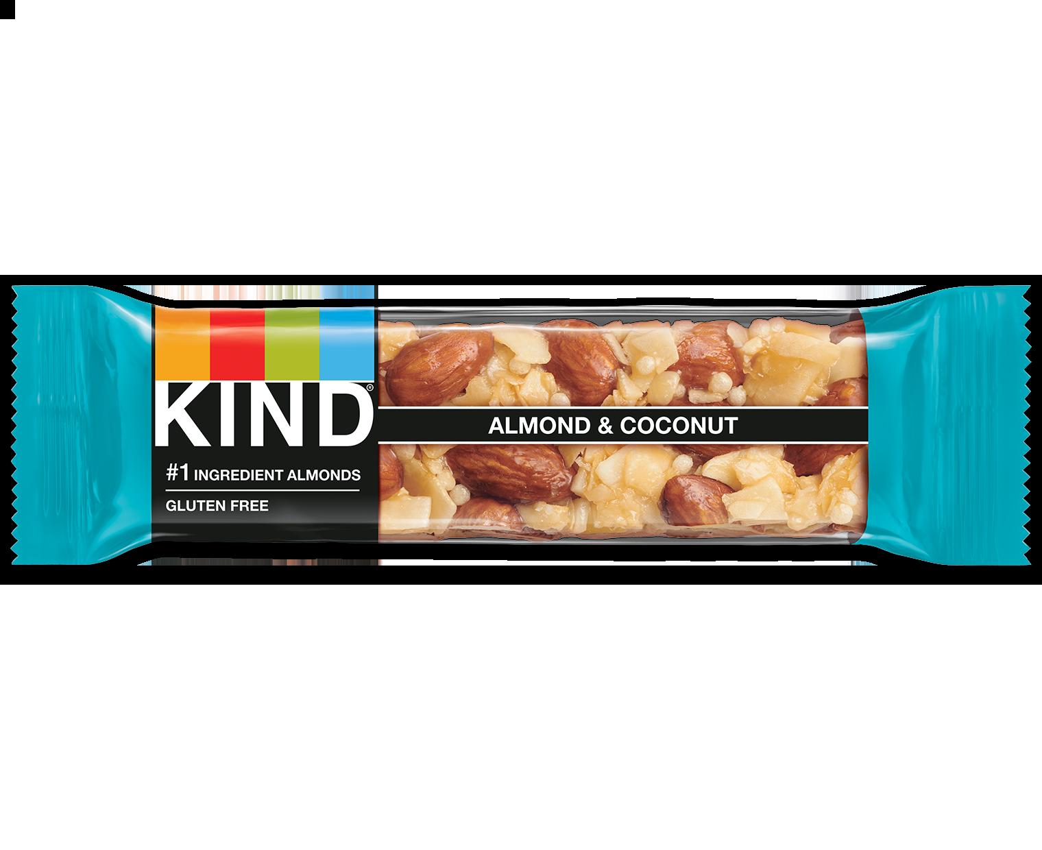 Almond Amp Coconut Bars Coconut Snack Bars Kind Snacks