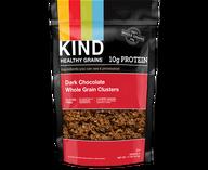 dark chocolate whole grain clusters