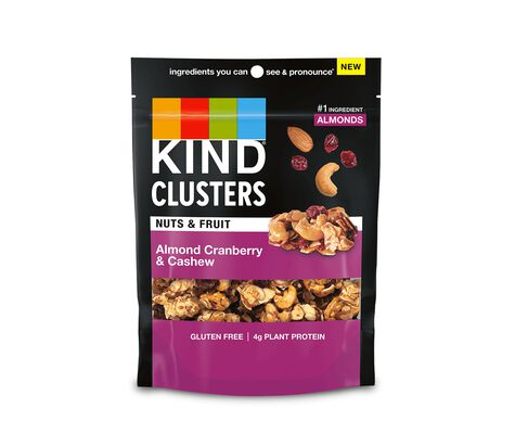 Almond Cranberry & Cashew Clusters
