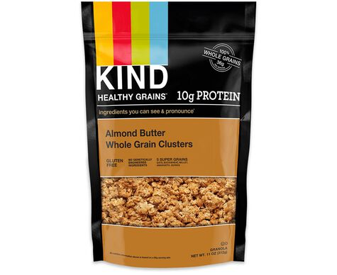 almond butter whole grain clusters