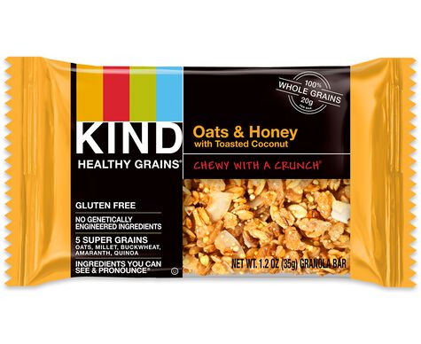 oats & honey with toasted coconut