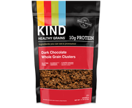 dark chocolate whole grain clusters