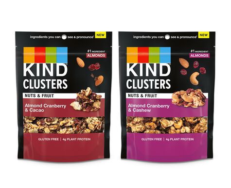 Nuts & Fruit Clusters Variety Pack