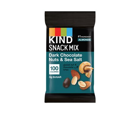 Dark Chocolate Nuts & Sea Salt - 100 Calorie Packs
