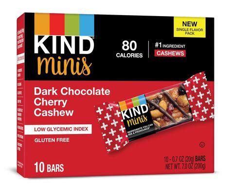 Dark Chocolate Cherry Cashew Minis