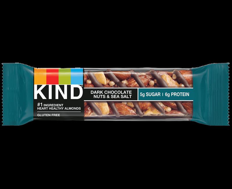 dark chocolate nuts & sea salt