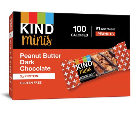 Peanut Butter Dark Chocolate Minis