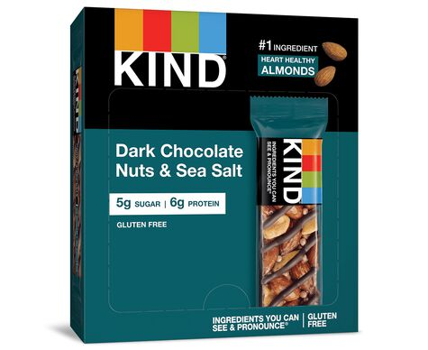 Dark Chocolate Nuts & Sea Salt