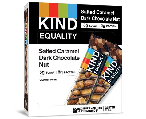 KIND® EQUALITY, Salted Caramel Dark Chocolate Nut