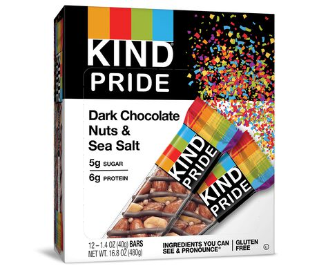 KIND® PRIDE, Dark Chocolate Nuts & Sea Salt
