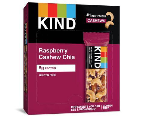 Raspberry Cashew Chia