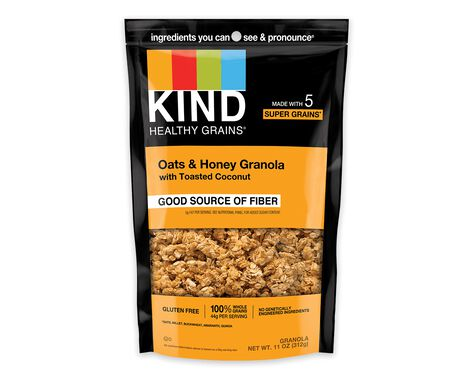 Oats & Honey Granola with Toasted Coconut