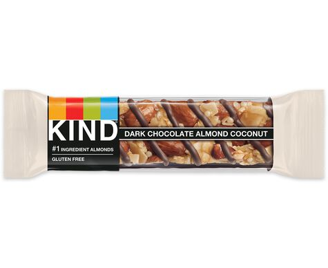 dark chocolate almond & coconut