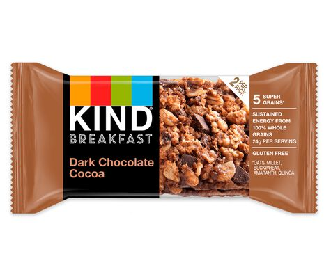 Dark Chocolate Cocoa Breakfast Bars