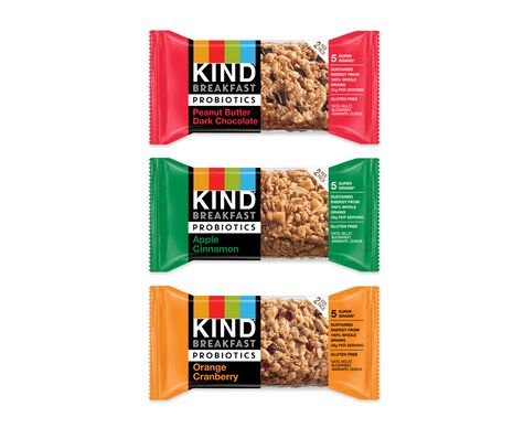 KIND Breakfast Probiotics Variety Pack