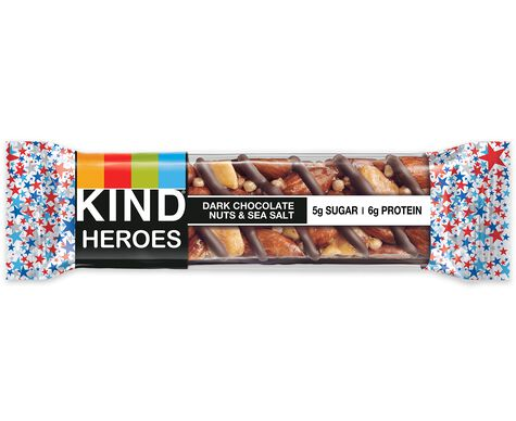 KIND heroes, dark chocolate nuts & sea salt