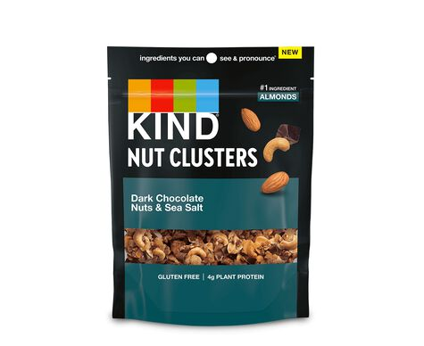 Dark Chocolate Nuts & Sea Salt Nut Clusters