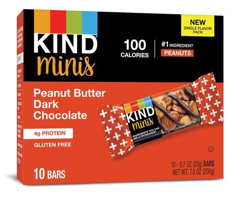 Peanut Butter Dark Chocolate Minis
