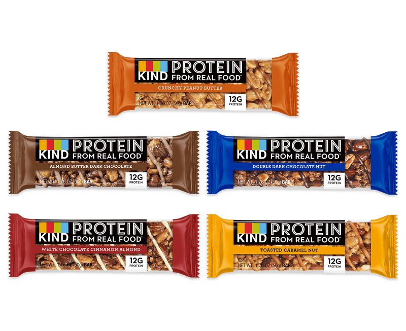 Kind Protein Variety Pack 60 Count Bars Kind Snacks