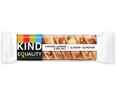 Kind EQUALITY, caramel almond & sea salt