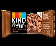 Dark Chocolate Cocoa Protein Breakfast Bars