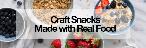 Craft Snacks Made With Real Food