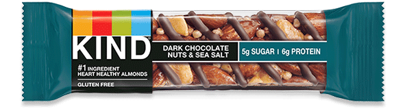 Dark Chocolate Nuts & Sea Salt bar