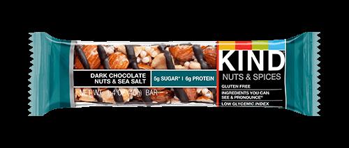 Dark Chocolate Nuts & Sea Salt Bar