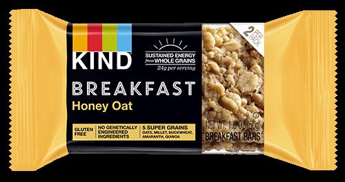 Honey Oat Breakfast Granola Bar