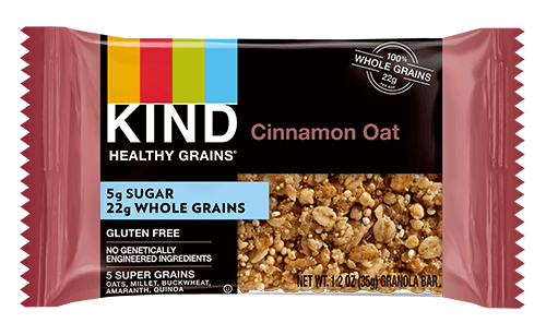 Cinnamon Oat Healthy Grains Granola Bar