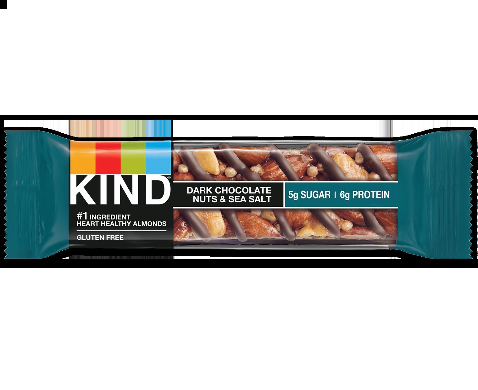 Dark Chocolate Nuts Sea Salt Bars Mixed Nut Bars Kind